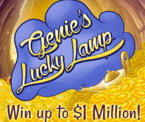 PCH Genie's Lucky Lamp Game Sweepstakes