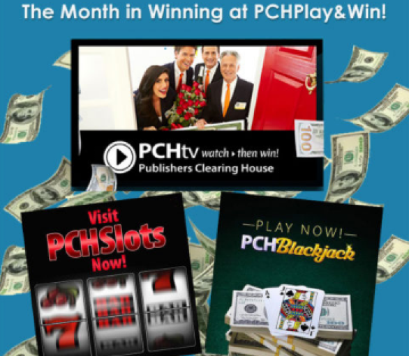 PCH Play & Win Winners