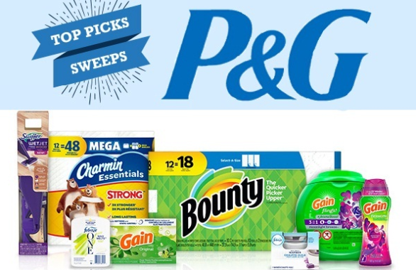 P&G Everyday Top Picks Sweepstakes