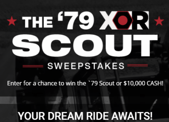 PowerNation 79 XOR Scout Sweepstakes Giveaway