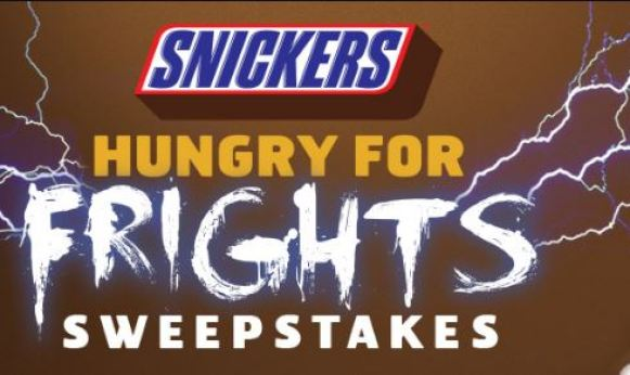 Sixflags Snickers Hungry for Frights Sweepstakes