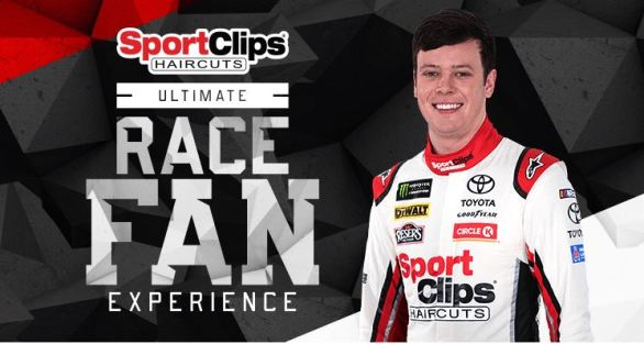 Sport Clips Texas Ultimate Race Fan Experience Sweepstakes
