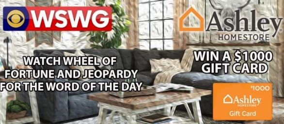 WSWG Ashley HomeStore Gift Card Giveaway Contest