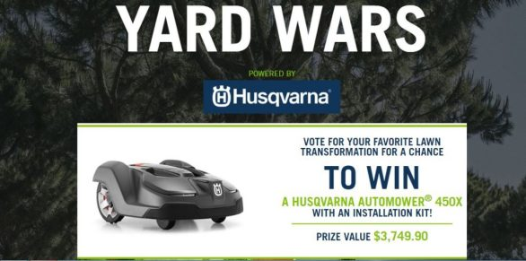 Yard Wars Sweepstakes