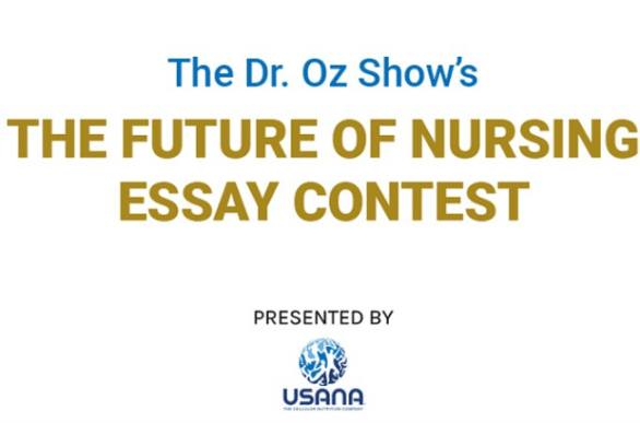 DR OZ Future of Nursing Essay Contest
