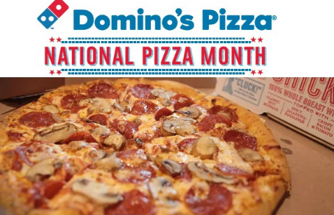 Domino's National Pizza Month Giveaway