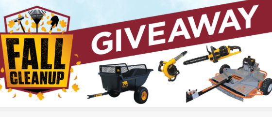 Fleet Farm Fall Clean Up Giveaway