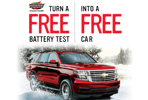 Free Test, Free Car Sweepstakes