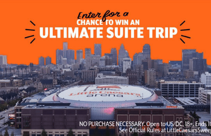 Little Caesars Suite Party Sweepstakes