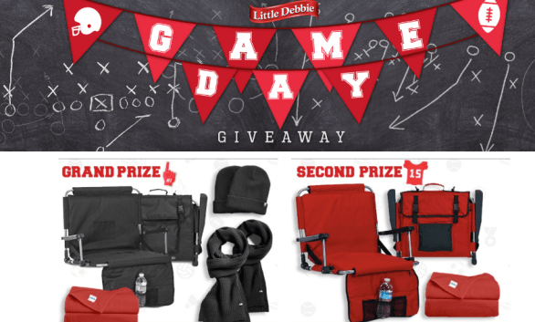 Little Debbie Game Day Giveaway