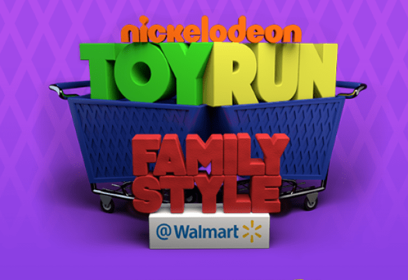 Nickelodeon Toy Run Family Style at Walmart Sweepstakes