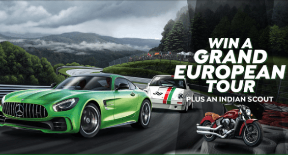 Shannons Grand European Tour Competition