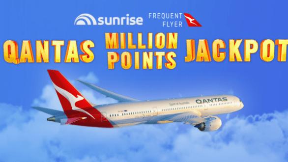 Sunrise Qantas Million Points Competition