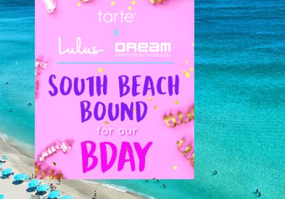 Tarte South Beach Bound Sweepstakes