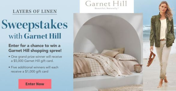 TraditionalHome-Garnet-Hill-Sweepstakes