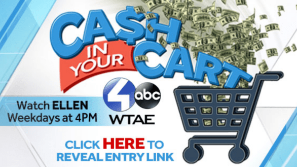 WTAE Ellen Cash in Your Cart Contest