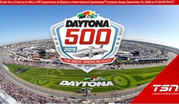 TSN Daytona 500 VIP Weekend Contest