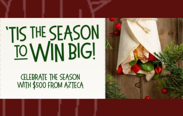 Azteca Foods Holiday Sweepstakes