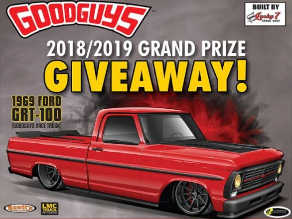 Goodguys 1969 Ford GRT-100 Truck Giveaway