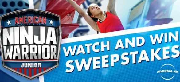 American Ninja Warrior Junior Sweepstakes