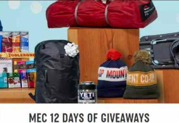 Mec 12 Days of Giveaways