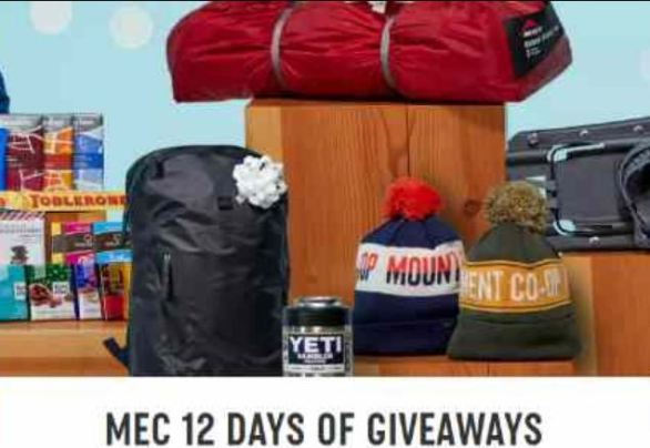 Mec 12 Days of Giveaways