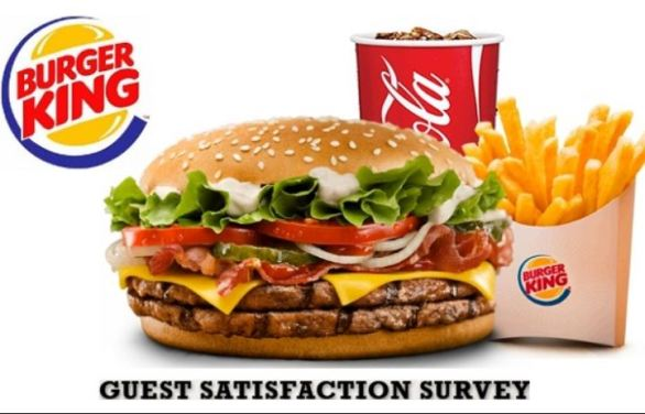 My Burger King Experience Survey Sweepstakes