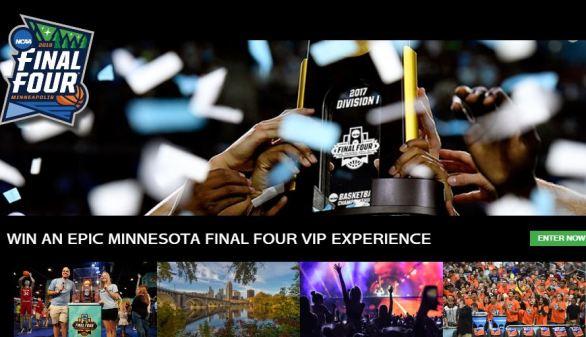 NCAA Final Four Minneapolis Sweepstakes