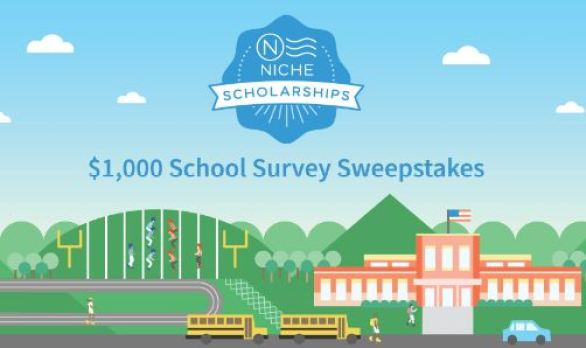 Niche $1,000 School Survey Sweepstakes