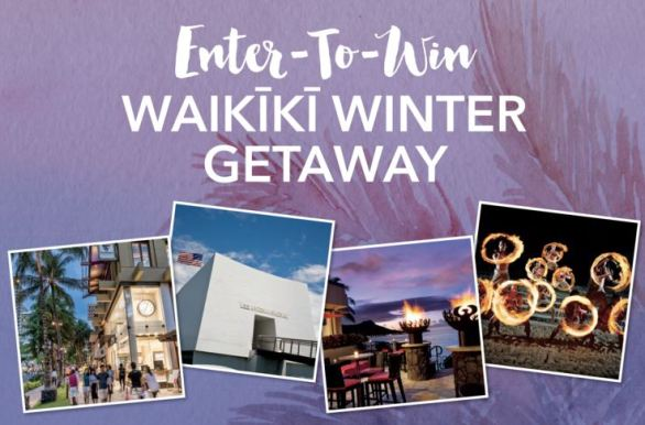 Purewow Winter Getaway to Waikiki Sweepstakes