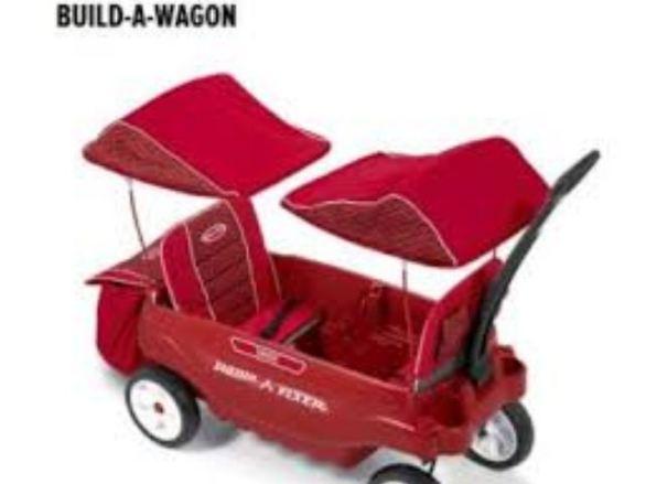 Radio Flyer Build-A-Wagon Giveaway