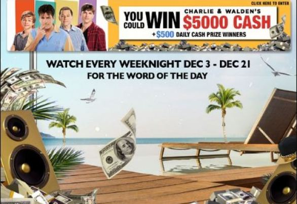 Two and a Half Men Win Charlie & Walden's Money Sweepstakes