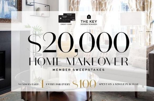 Williams Sonoma Home Makeover Sweepstakes Win 20 000