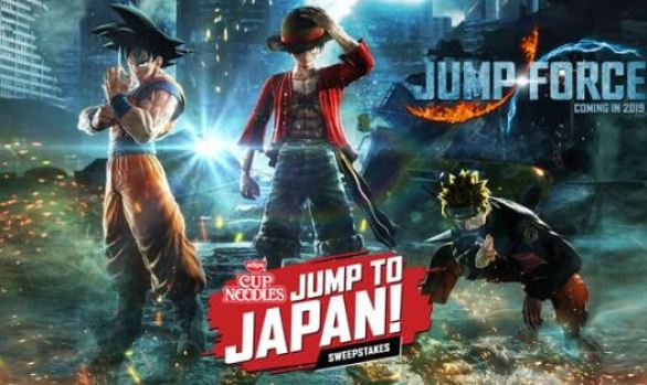 NissinFoods-Jump-Force-Sweepstakes