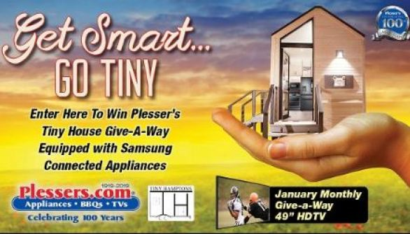 Plessers Get Smart Go Tiny Giveaway