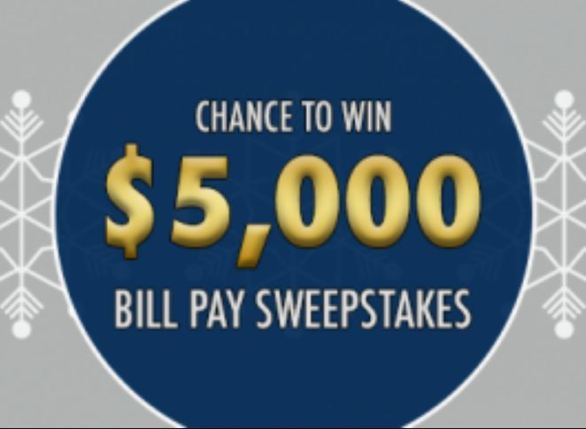 Rollstone Bank Bill Pay Sweepstakes