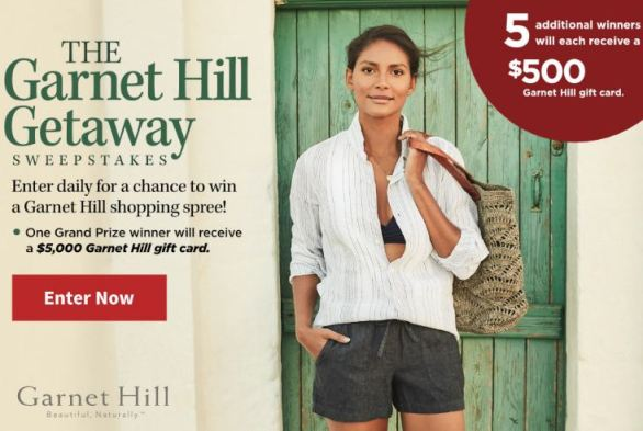 Travelandleisure-Garnet-Hill-Sweepstakes