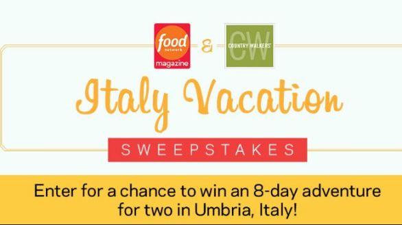 Food-Network-Italy-Sweepstakes