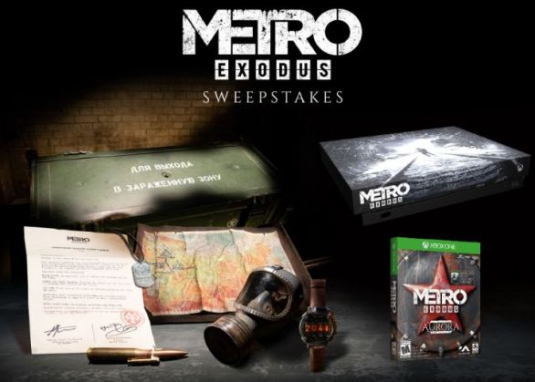 Gamestop-PowerUp-Rewards-Metro-Exodus-Sweepstakes