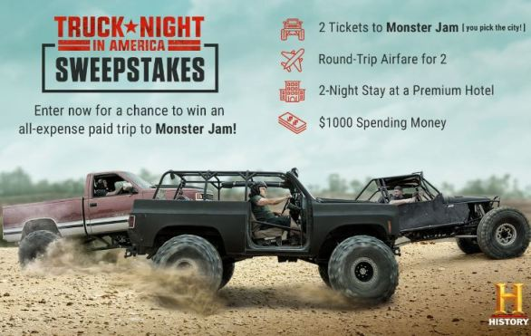 History-Truck-Sweepstakes