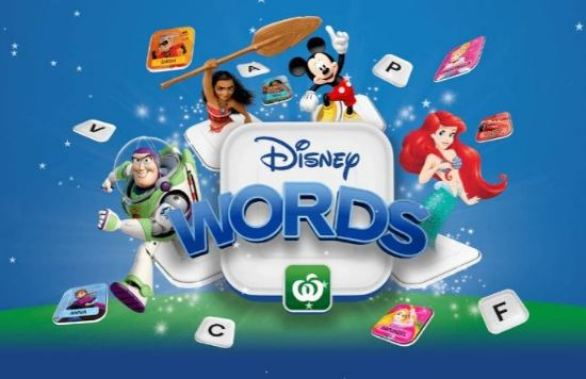 Woolworths-Disney-Words-Competition