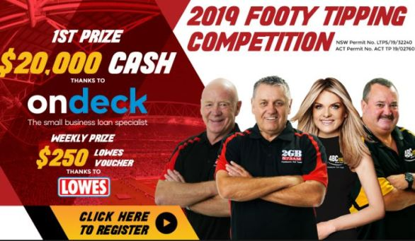 2gb-Footy-Tipping-Competition