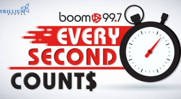 Boom997-Every-Second-Counts-Contest