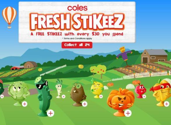 Colesstikeez-Competition