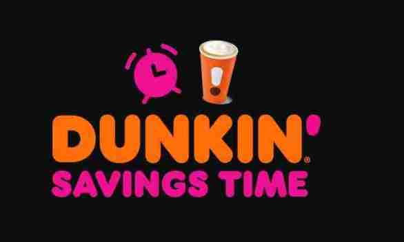 DunkinSavingsTime-Sweepstakes