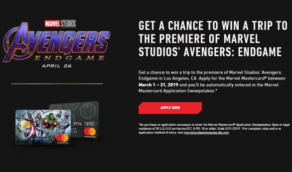Marvel-Credit-Card-Sweepstakes