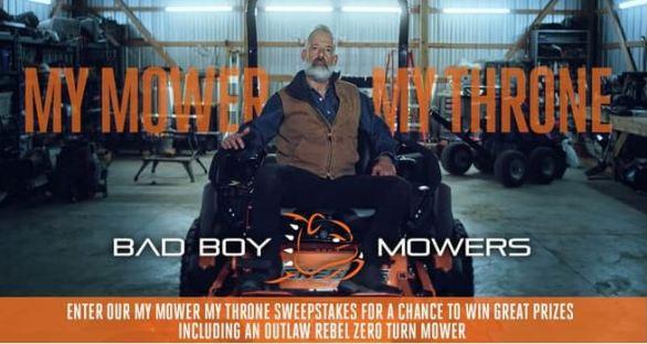 Badboymowers-My-Mower-My-Throne-Sweepstakes