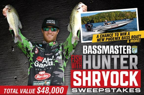 Bassmaster-Fish-With-Hunter-Shryock-Sweepstakes