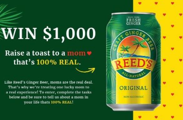 Drinkreeds-Real-Ginger-Sweepstakes