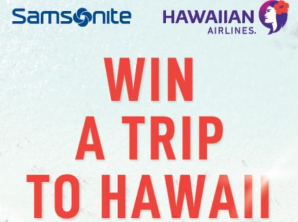 Samsonite-Hawaiian-Airlines-Competition